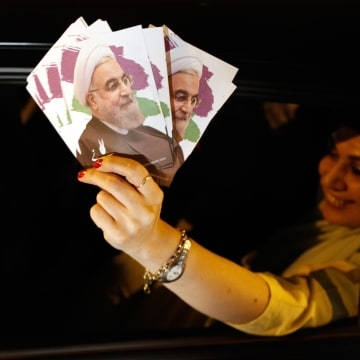 Image: Hassan Rouhani supporter