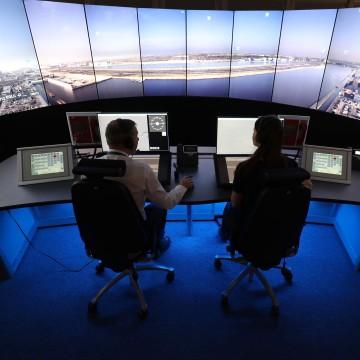 Image: NATS digital air traffic control tower