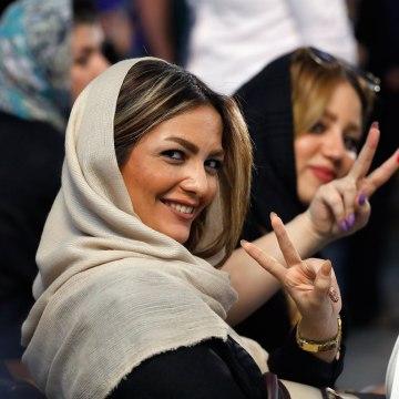 Image: Iranian voter