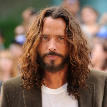 "Image: Musician/actor Chris Cornell  arrives at the premiere of ""Machine Gun Preacher"""