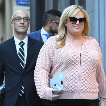 Image: Rebel Wilson Attends Court As Defamation Trial Against Women's Day Begins