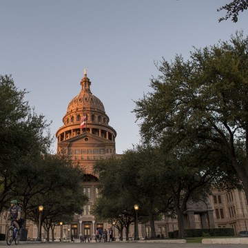 Image: The Texas State Capitol in Austin