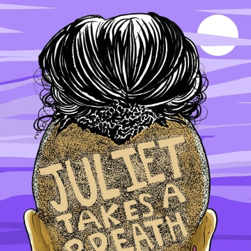 "IMAGE: The cover of ""Juliet Takes A Breath"" by Gabby Rivera."