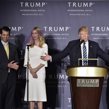 Image: Grand opening of the Trump International Hotel in Washington