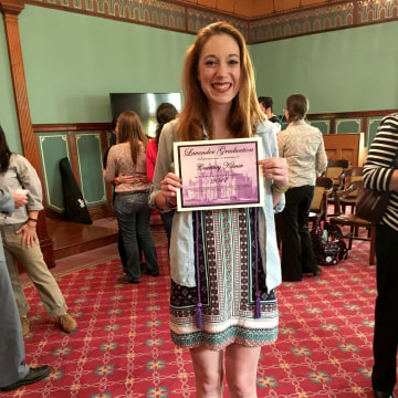 Image: Lavender Graduation