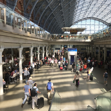 Image: St. Pancras station in London