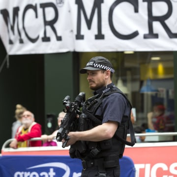 Image: Armed Police in Manchester
