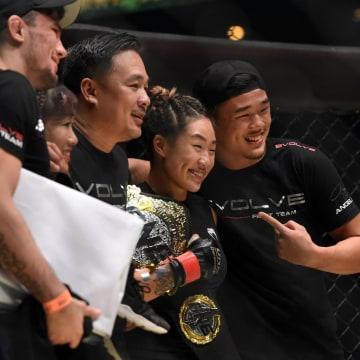 Image: MMA-SIN-BRA-ONE-WOMEN-ATOMWEIGHT