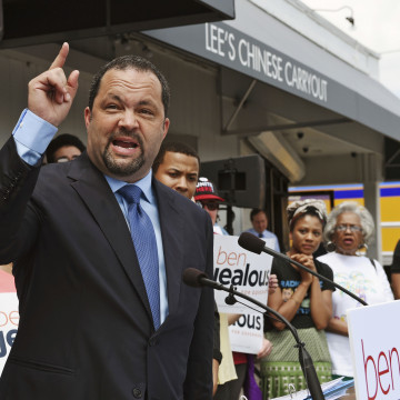 Image: Ben Jealous former president and CEO of the NAACP