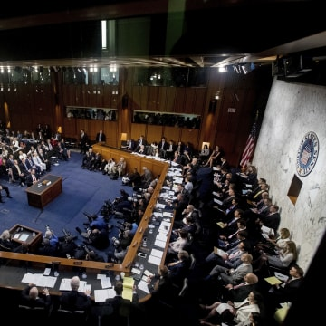 Image: James Comey hearing in Washington