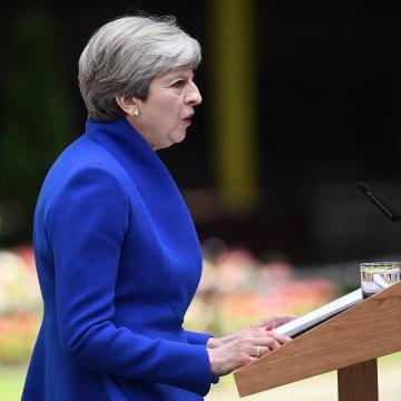 Image: British Prime Minister Theresa May