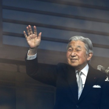 Image: Special law allowing Emperor Akihito to abdicate allowed