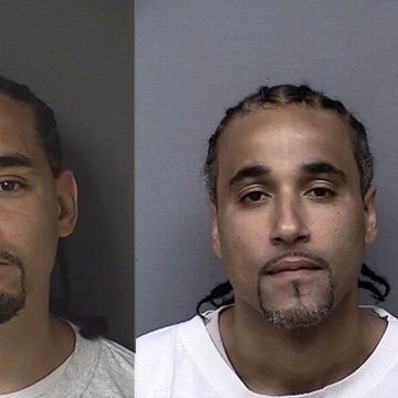 Image: Ricky Amos (left) and Richard Jones (right)