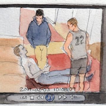 Image: Sketch of PSU Frat House Death