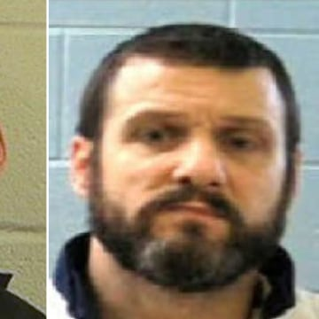 Image: Escaped inmates Ricky Dubose, left, and Donnie Russell Rowe.