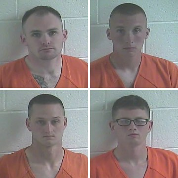 Image: Kentucky State Police have arrested four Kentucky National Guard soldiers following the investigation of a sexual assault in Calloway County