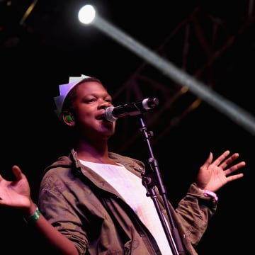 Image: Shamir performs onstage during Coachella Valley Music and Arts Festival