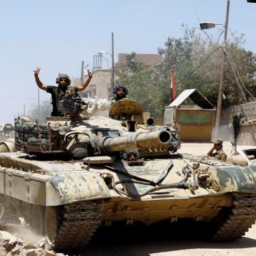 Image: An Iraqi military tank
