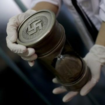 IMAGE: Nazi hourglass