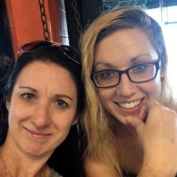 Image: Jennifer and Allison Flory