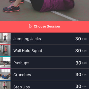 Image: Fitsar Personal Trainer app