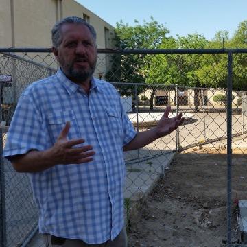 Image: Craig Scharton, interim CEO of the Downtown Fresno Partnership