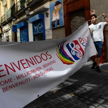 Image: SPAIN-WORLD-PRIDE-MADRID