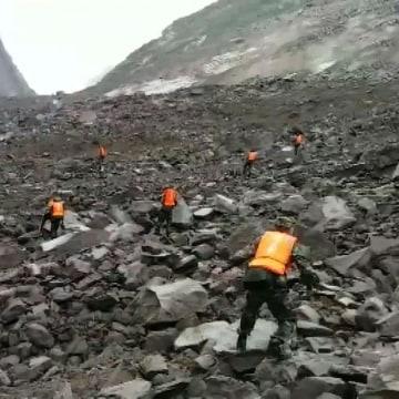 Image: CHINA-DISASTER-LANDSLIDE