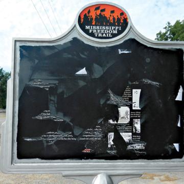 Image: Civil Rights Marker