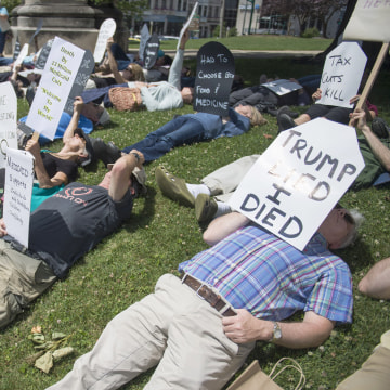 Image: Health Care Protest