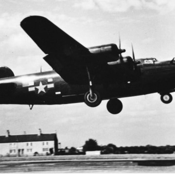 Image: The B-24 flown by John Billings during Operation Greenup