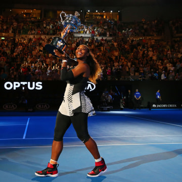 Image: Serena Williams at the Australian Open