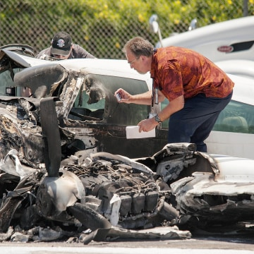 Image: Orange County Plane Crash