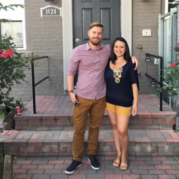 Millennials Pamela Cervera and boyfriend Christopher Maxwell are splitting home buying costs.