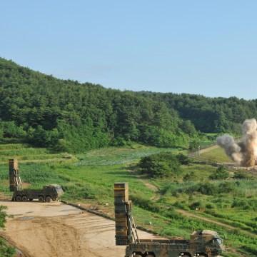 Image: U.S. missile fires
