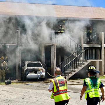 Image: Fort Pierce fire