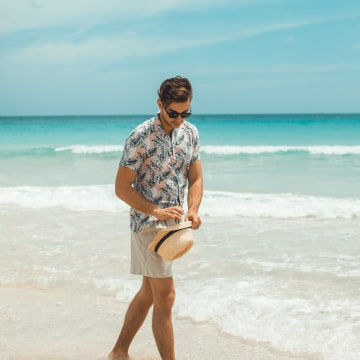 Image: Darek on Playa Cayo Santa Maria