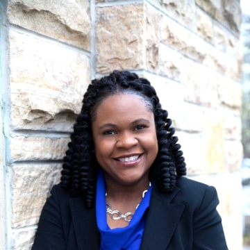 Image: Dr. Yolanda Pierce is the Dean of the School of Divinity at Howard University.