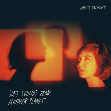 """Image: Album cover art for Japanese Breakfast's """"Soft Sounds from Another Planet"""""""
