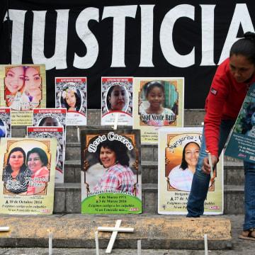 Image: HONDURAS-CRIME-VIOLENCE-WOMEN