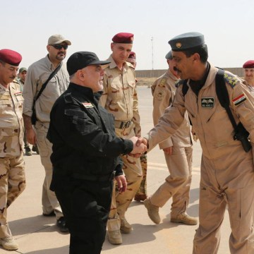 Iraq PM Abadi Arrives in Mosul to Declare 'Victory' Over ISIS – NBCNews.com