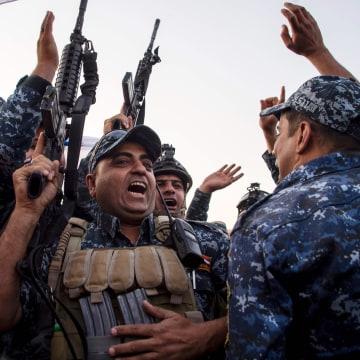Image: Iraqi federal police