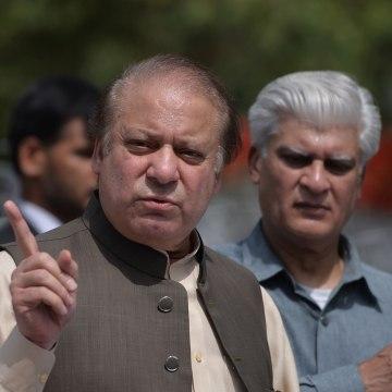 Image: Pakistan's Prime Minister Nawaz Shari
