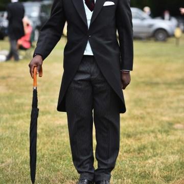 Image:  Major Nana Twumasi Ankrah at the Royal Ascot Racecourse in London