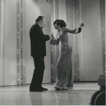 Image: Ed Sullivan and Diana Ross