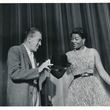 Image: Pearl Bailey and Ed Sullivan