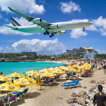 IMAGE: Sunset Beach, St. Maarten