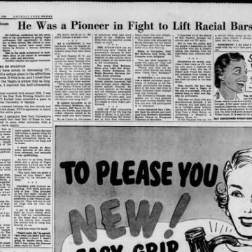 Image: Ed Sullivan newspaper article