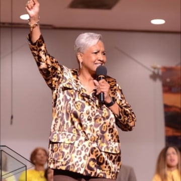 Image: Rev. Dr. Cynthia Hale, Pastor of Ray of Hope Christian Church in DeKalb County, Georgia.