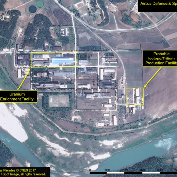 Image: A satellite image of the radiochemical laboratory at the Yongbyon nuclear plant in North Korea